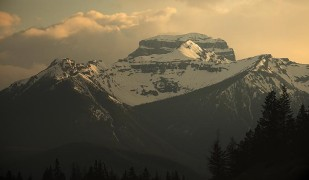 canada,banff,rockies,sunset